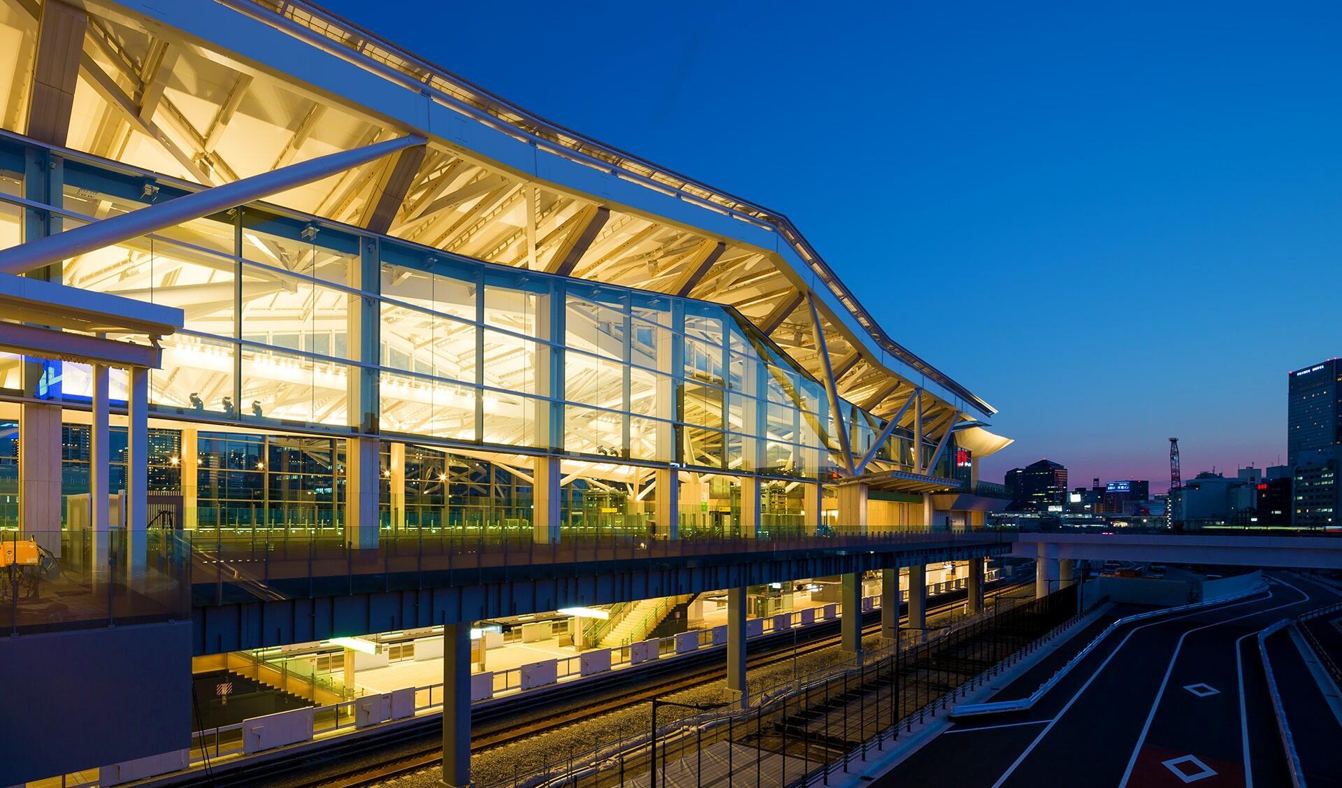 高輪ゲートウェイ駅の写真