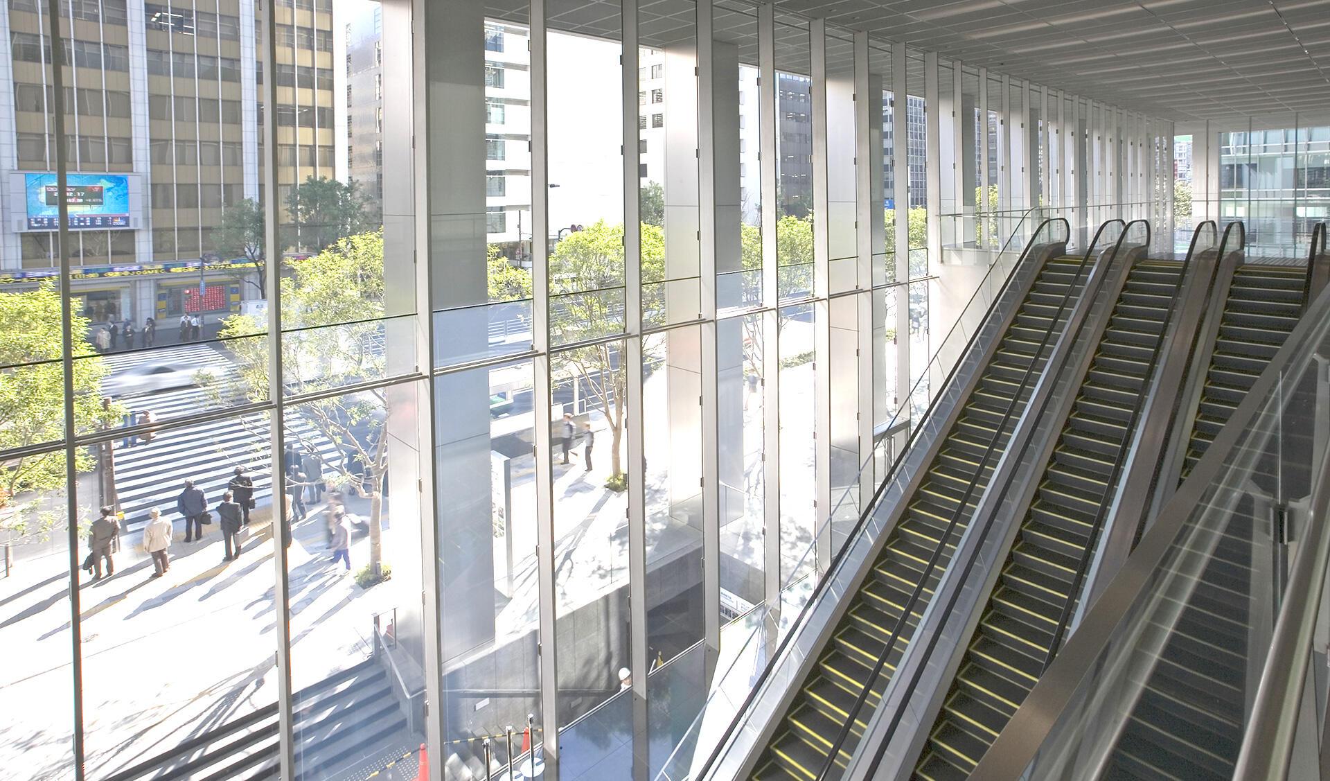 東京駅八重洲口開発計画南棟の写真