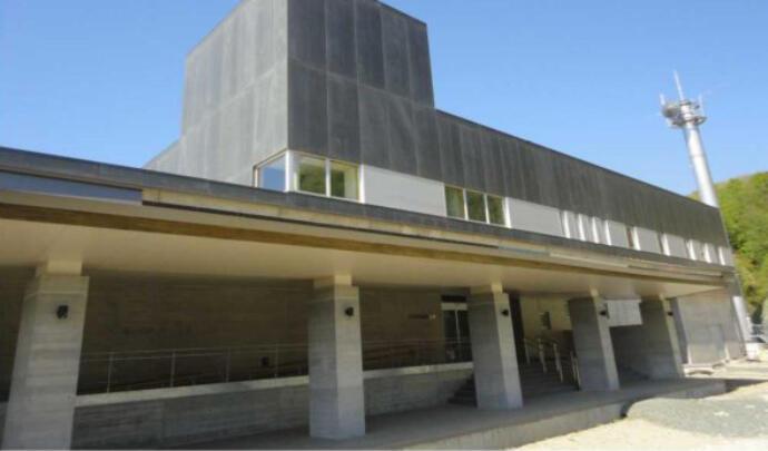 胆沢ダム管理庁舎の写真